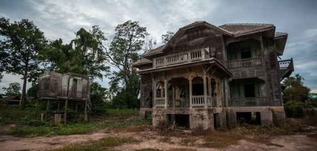 تفسير حلم البيت القديم الوسخ