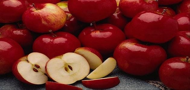 تفسير حلم التفاح الأحمر