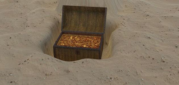 تفسير حلم حفر الأرض وخروج ذهب