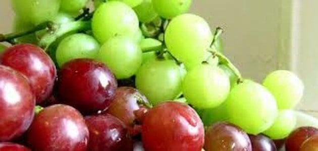 رؤية اكل العنب في المنام